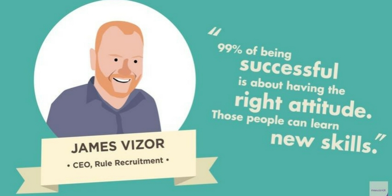 RULE's James Vizor Appears in Innovate UK Recruitment Video