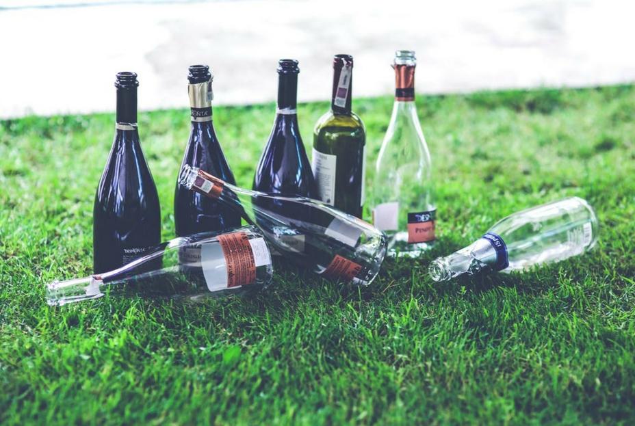 Empty alcohol bottles - 25 reasons why recruitment is the best job you'll ever have