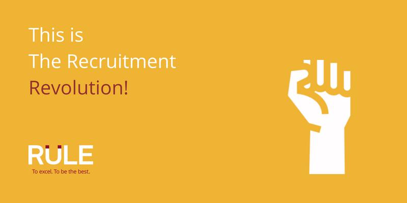 The Recruitment Revolution Manifesto