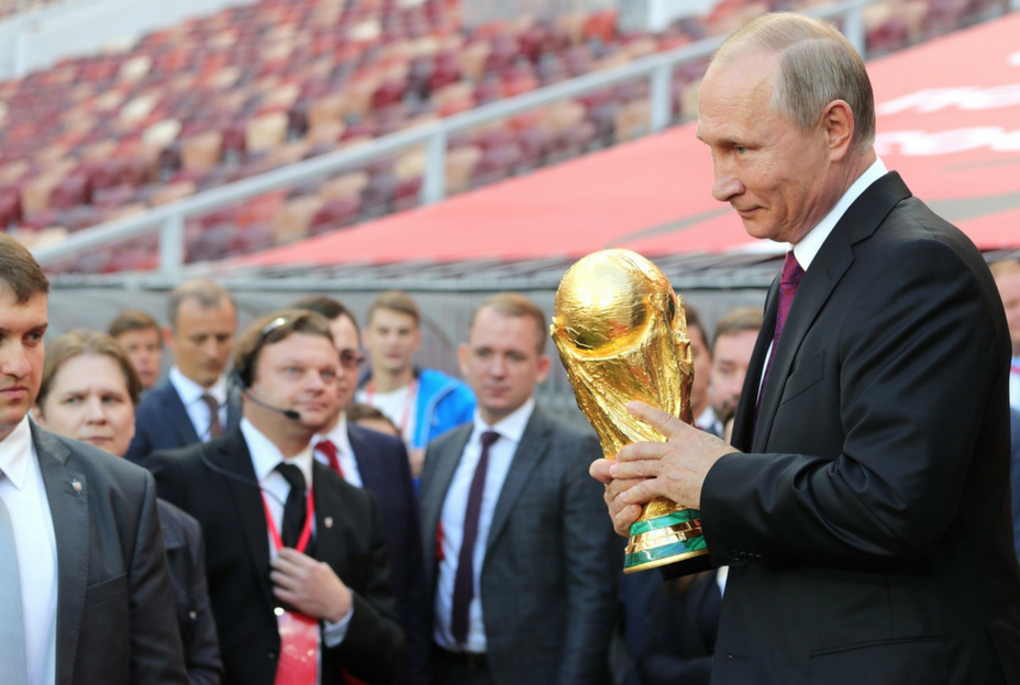 Vladmir Putin World Cup 2018