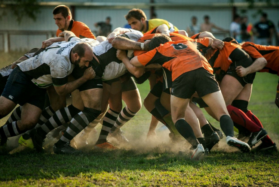 Rugby Scrum - Athlete Mentality