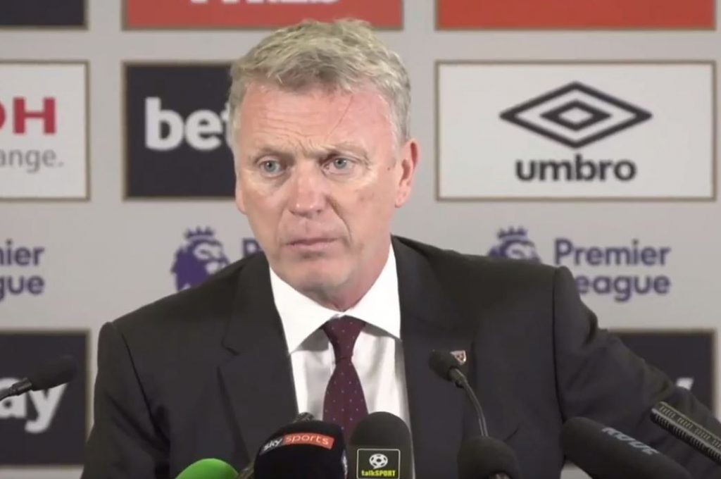 David Moyes giving a talk on resilience - recruitment tactics